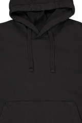 Hood Detail Image of Stone Island Hooded Sweatshirt Black