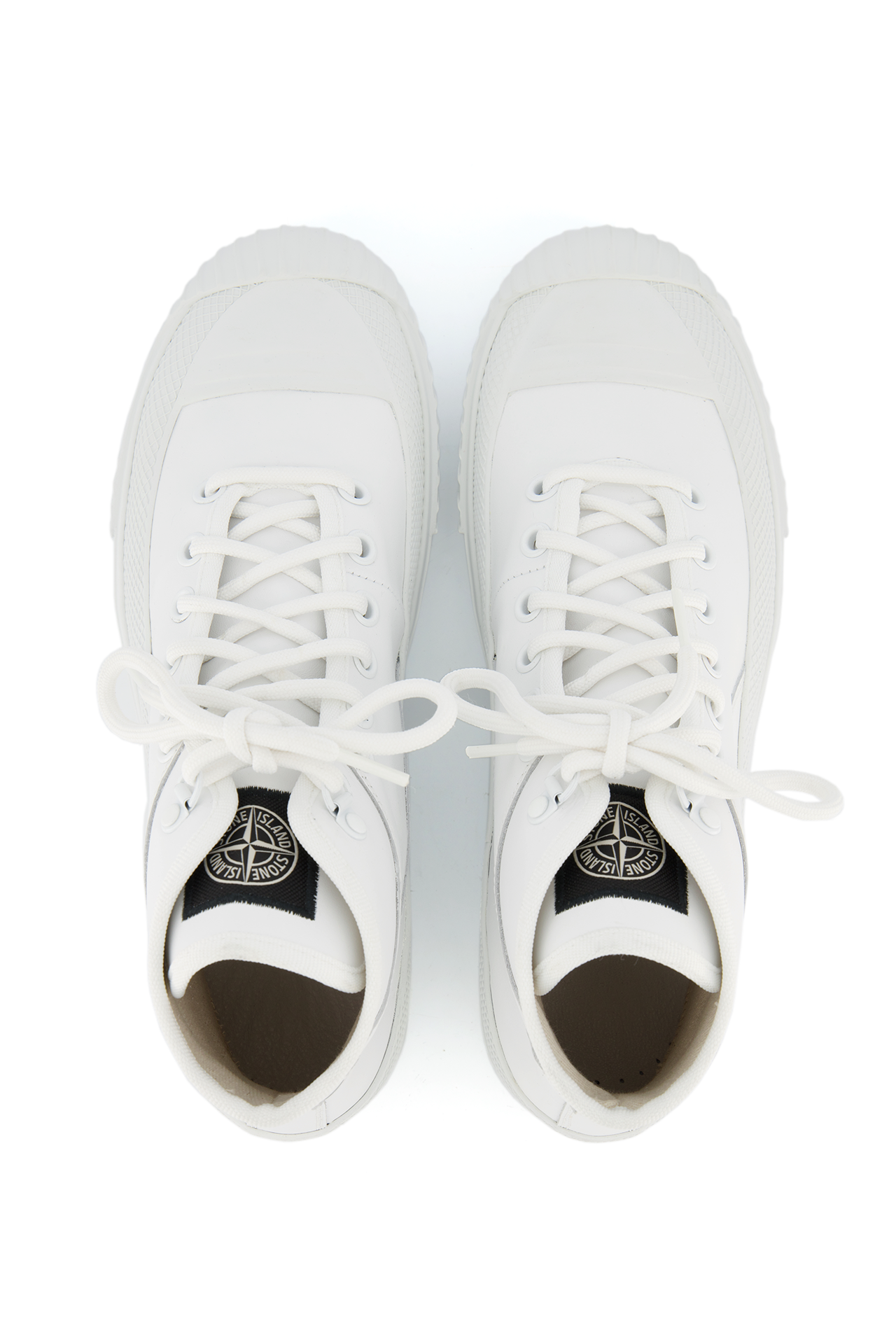 SS21 Leather Hightop Sneaker