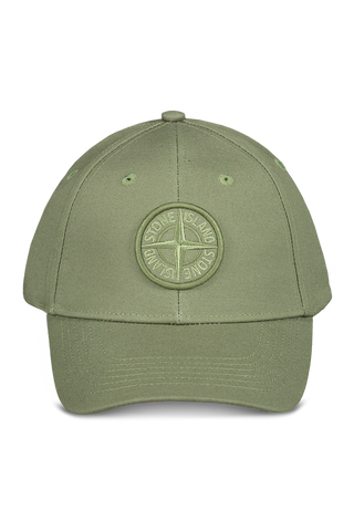 Front view image of Stone Island Olive Hat
