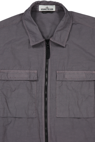 Overshirt Blue Grey