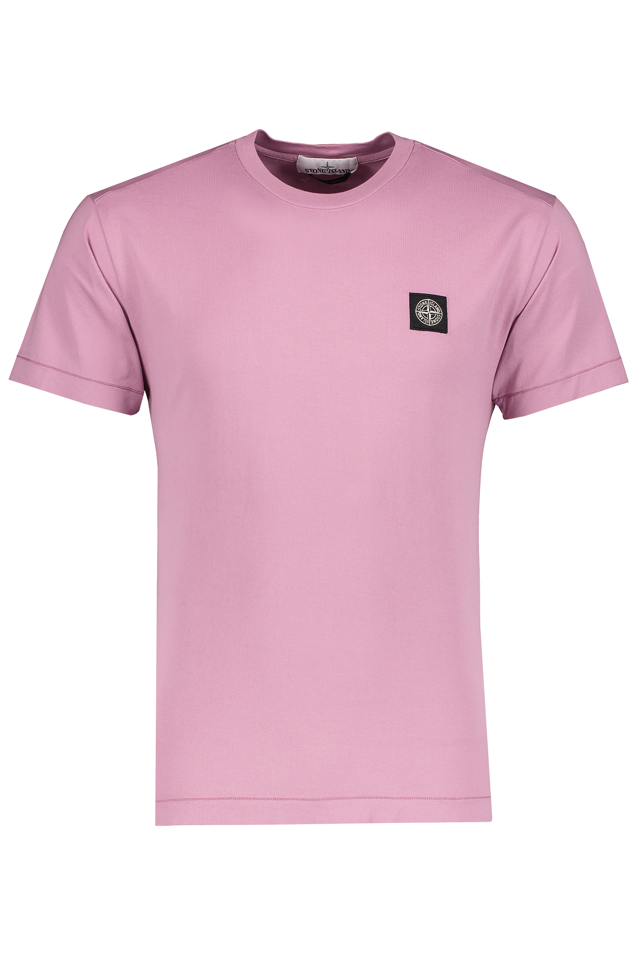 Front Image of Stone Island T-Shirt Rose Quartz