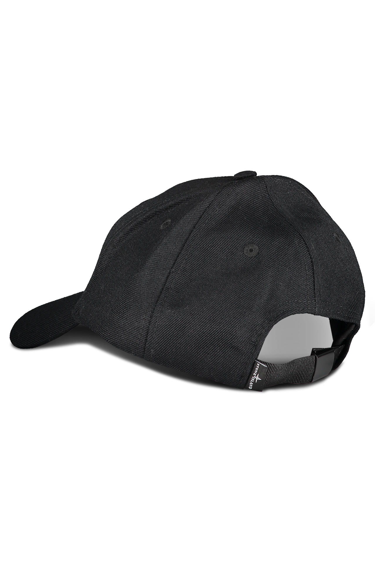 Back View of Stone Island Black Hat