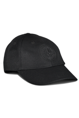 Side View of Stone Island Black Hat