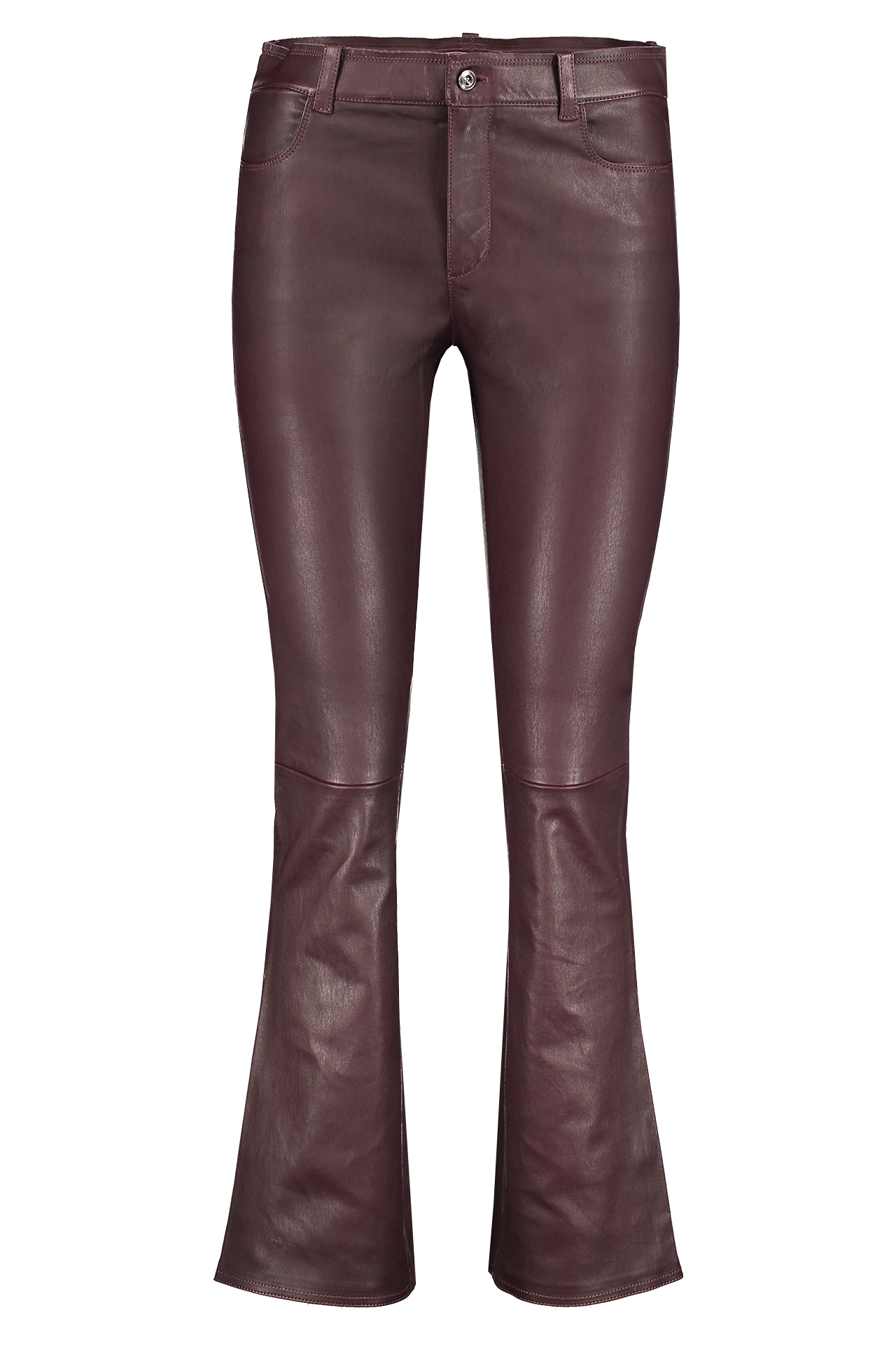 Front view of Stouls Dean Lambskin Pant Polish
