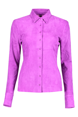 Front view image of STOULS Garett Suede Blouse