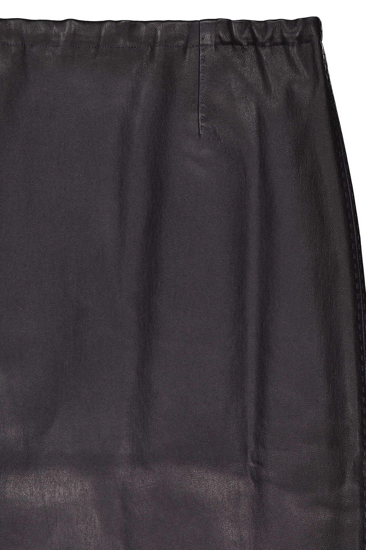 Front detail image of STOULS Gilda Lambskin Skirt Stylo