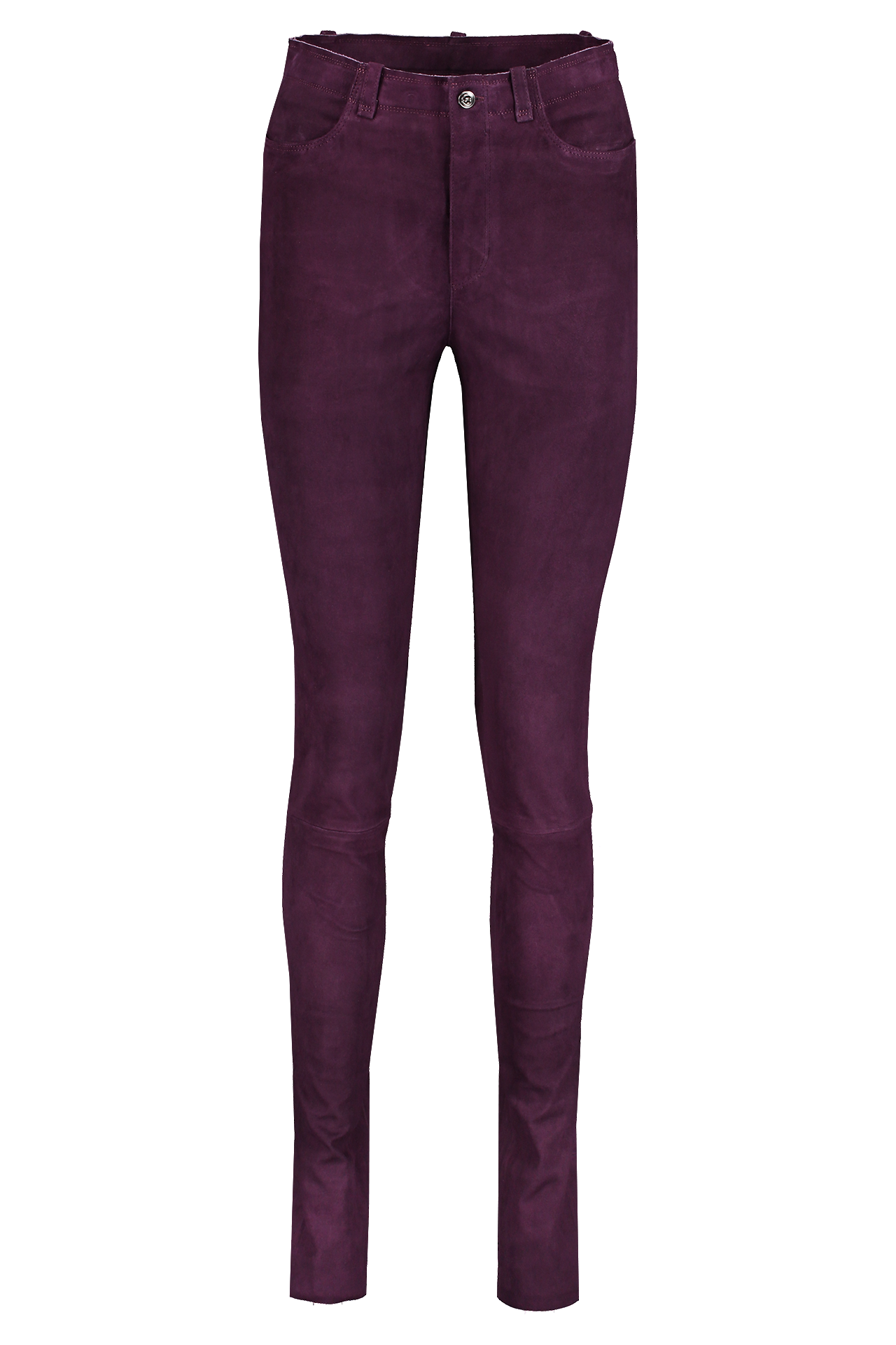 Front image of STOULS Sonny Suede Pant Grappe
