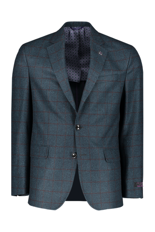 Wide Plaid Sportcoat