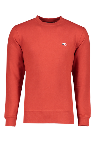 Front view image of The GoodPeople Liam Sweatshirt Red