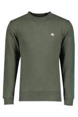 Front view image of The GoodPeople Men's Liam Sweatshirt Army Green