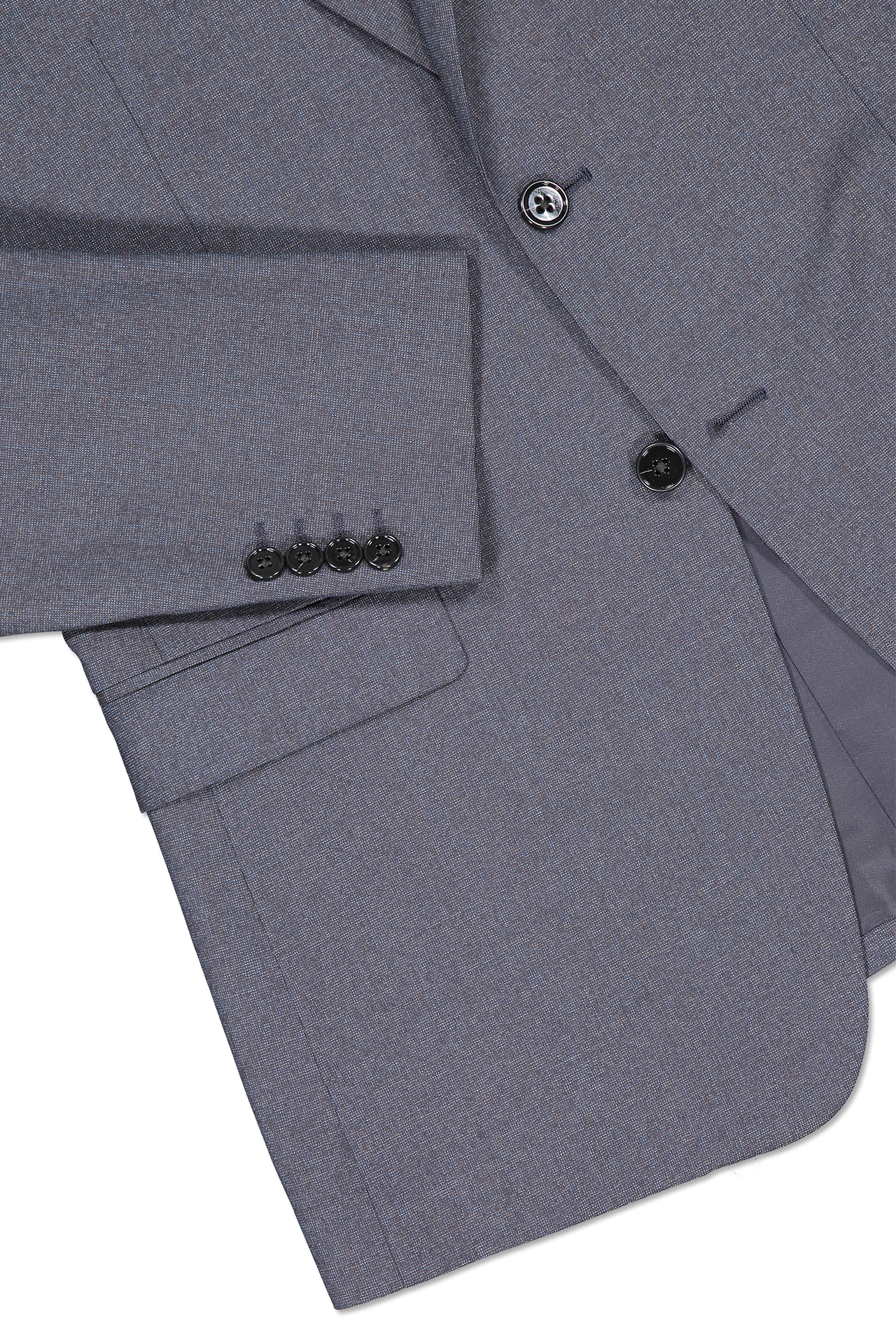 Hemline and cuff detail image of Theory Men's Chambers Sportcoat