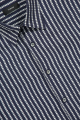 Checked Lyocell Shirt