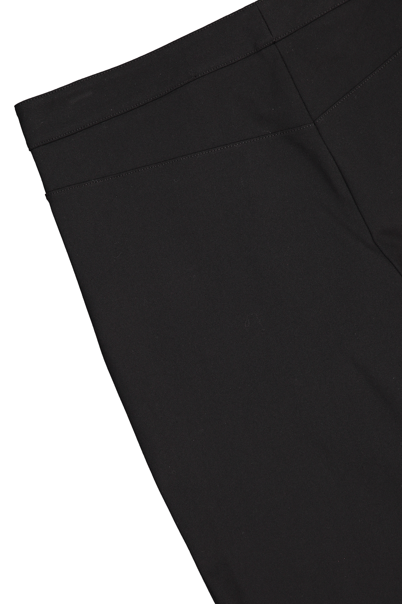 Back Detail Image of Theory Women's Eco Crop Pant Black