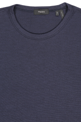 Front collar detail image of Theory Men's Essential Tee Eclipse Multi