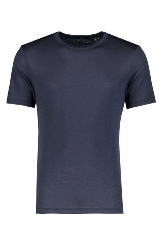 Front view image of Theory Men's Essential Tee Eclipse Multi