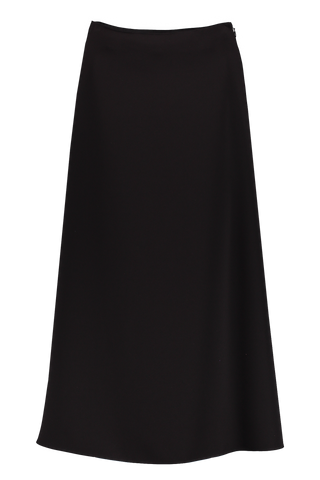 Full Midi Skirt Black