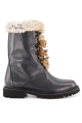 Side Image of Lace Up Winter Boot