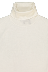 Collar Detail Image of Theory Women's Leenda Sweater Ivory