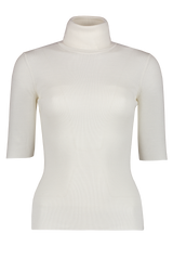 Front Image of Theory Women's Leenda Sweater Ivory
