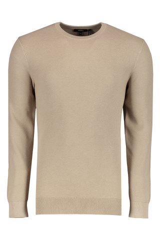 Men's Riland Pique Sweater Beige Stone