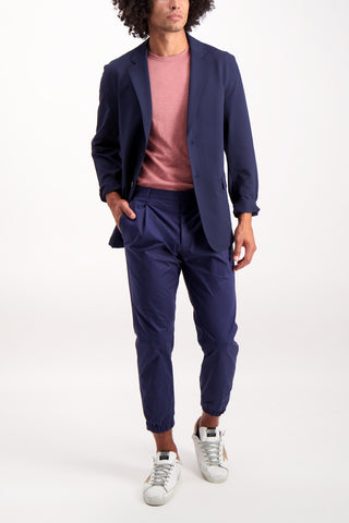 Full Body Image Of Model Wearing Men's Theory Saratoga F. Sportcoat