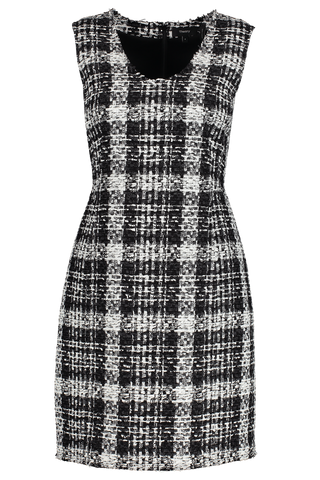 Front view image of Theory Women's Sculpt Dress Black