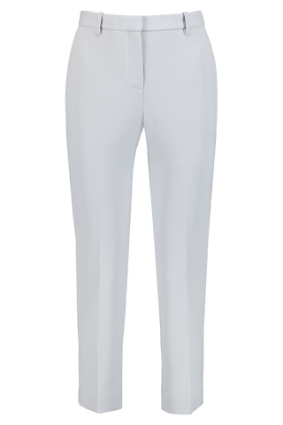 Front Image of Theory Women's Tailor Trouser Mist Blue