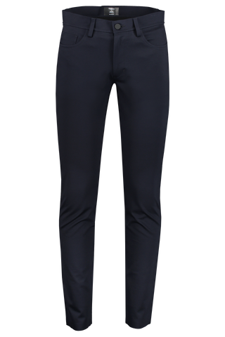 Front view image of Theory Men's Tech Raffi Pant Eclipse