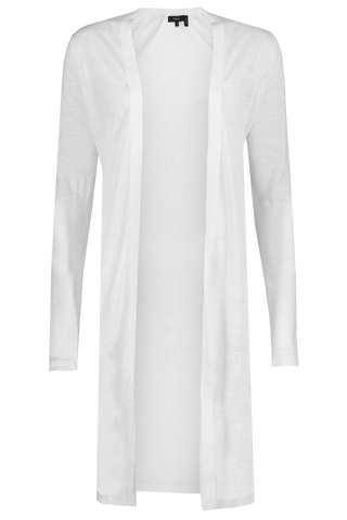 Torina Sag Harbor Cardigan White