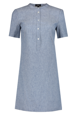 Trapeze Dress	Chambray