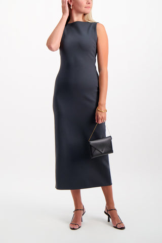 Full Body Image Of Model Wearing Erin Dress