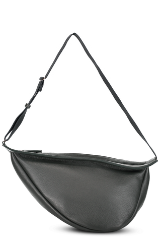 Front Image with Strap Extended Large Slouchy Banana Bag