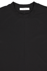 Front collar detail image of The Row Long Sleeve Emmett Top