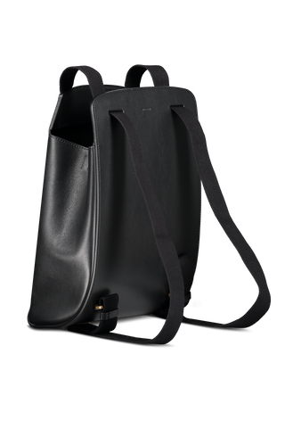 Back angle image of The Row Moulded Backpack
