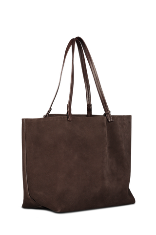 Back angle image of The Row Park Tote Espresso