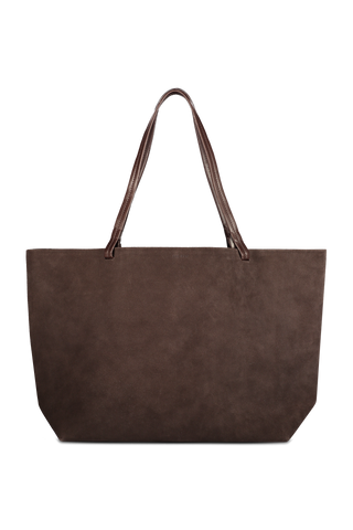 Front image of The Row Park Tote Espresso