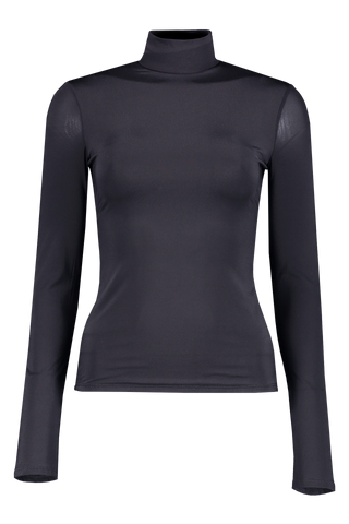 Front view image of The Row Rudd Top Navy