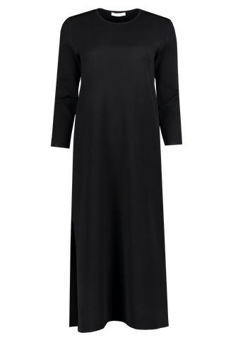 Long Sleeve Katey Dress In Black