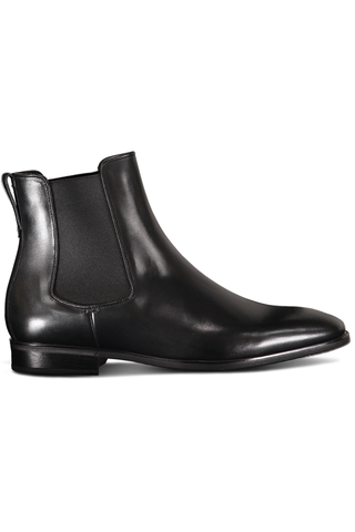RUBBER SOLE CHELSEA BOOT BLACK