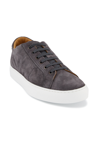 Front angled view image of To Boot Colton Suede Sneaker Oliver Avion
