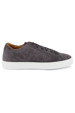 Side view image of To Boot Colton Suede Sneaker Oliver Avion