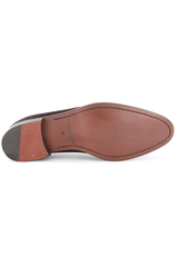 Sole view image of To Boot Men's Dearborn Suede Flex Penny Loafer