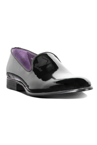 Delevan Slip On Black Patent