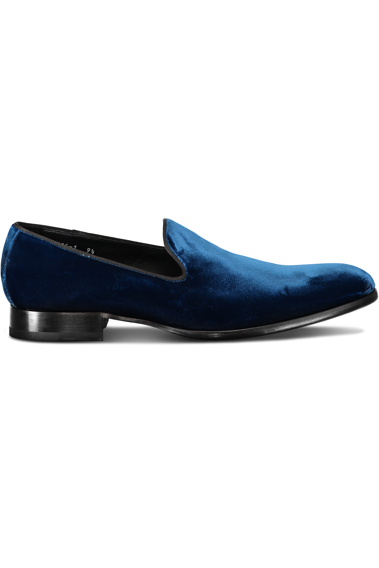 Formal Velvet Loafer Navy