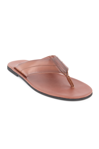 Front angled view image of To Boot New York Maui Flip Flop Sandal Marrone