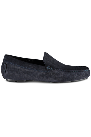 Lewis Pressed Leather Loafer