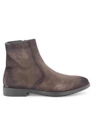 Rosemont Side Zip Suede Boot