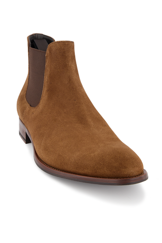 Front Angle Image of To Boot Shelby Suede Chelsea Boot
