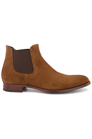 Front Image of To Boot Shelby Suede Chelsea Boot