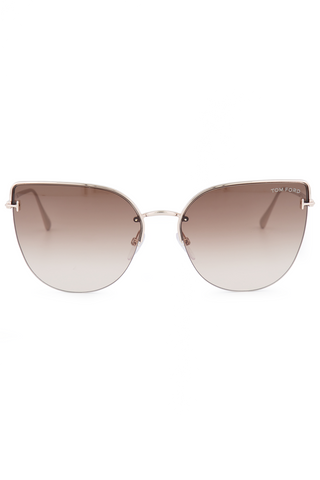 Front view image of Tom Ford Women's Ingrid Metal Sunglasses